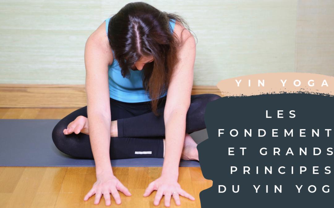 Les fondements et grands principes du yin yoga
