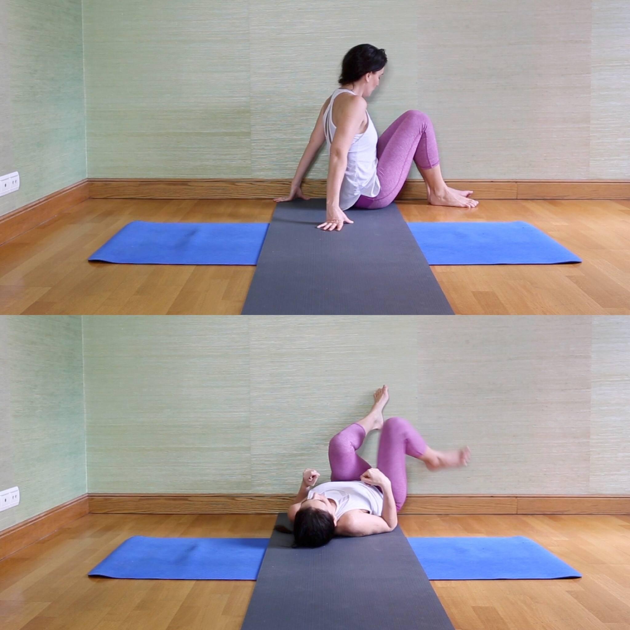 15 minutes pour une séance de yoga réparateur ! - YamYoga